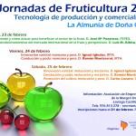 Jornadas de fruticultura 2012